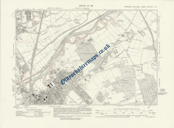 Histoical Doncaster Map 1907