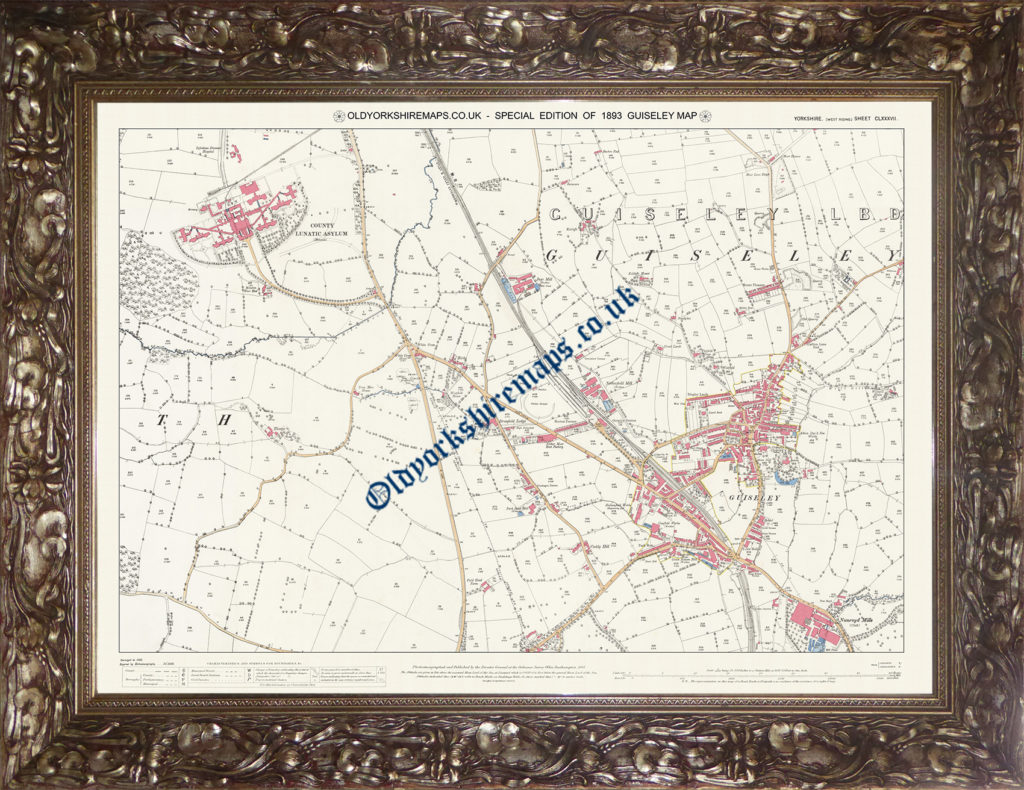1893 Guiseley map - Special Edition